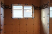 Porcelain and glass shower remodel in Fort Collins_1739