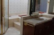 Porcelain tile master bathroom remodel in Fort Collins, Colorado _1459