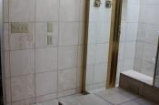 Porcelain tile master bathroom remodel in Fort Collins, Colorado _1470