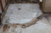 Porcelain tile master bathroom remodel in Fort Collins, Colorado _1483