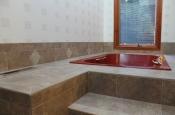 Porcelain tile master bathroom remodel in Fort Collins, Colorado _1606