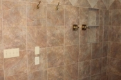 Porcelain tile master bathroom remodel in Fort Collins, Colorado _1621