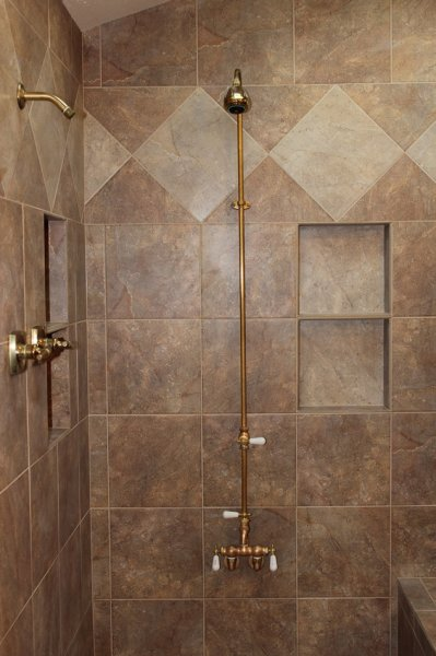 Porcelain tile master bathroom remodel in Fort Collins, Colorado_1699