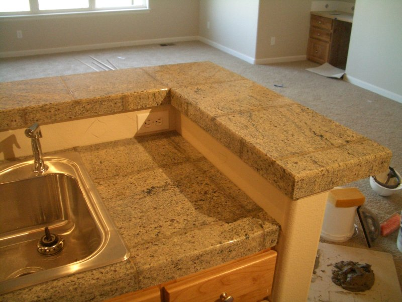 Granite Tiles Countertop : Pics Photos - Granite Tile Countertops Photos