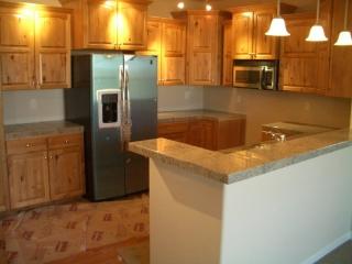 granite kitchen countertops.
