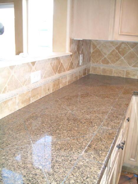 Suspended floor tiles