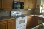 Ceramic kitchen backsplash
