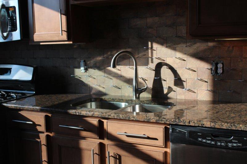Porcelain subway kitchen backsplash in Fort Collins_1510
