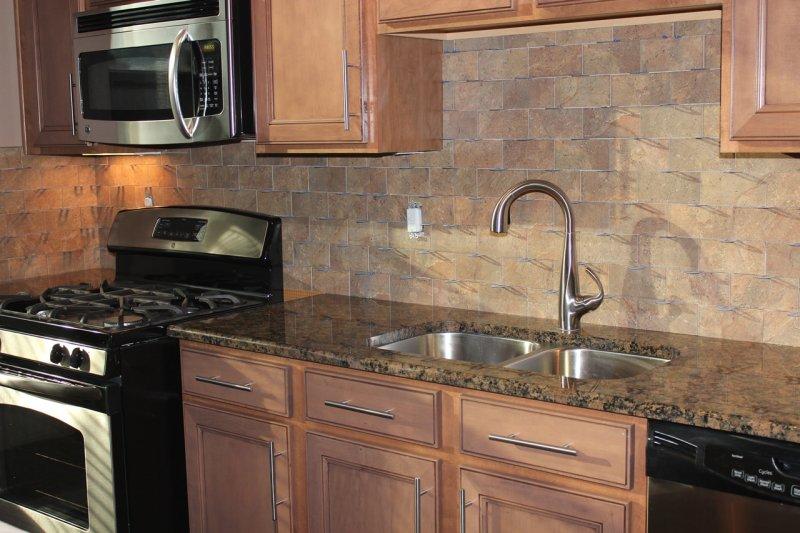 Porcelain subway kitchen backsplash in Fort Collins_1511