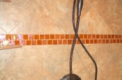 Florida Tile Taconic Slate porcelain master bathroom shower in Fort Collins