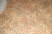 Porcelain pinwheel floor tile in Fort Collins, CO