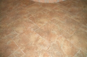 Porcelain pinwheel pattern floor tile in Fort Collins, CO