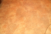 Porcelain pinwheel master bathroom floor in Fort Collins