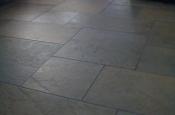 Porcelain basketweave tile floor in Fort Collins