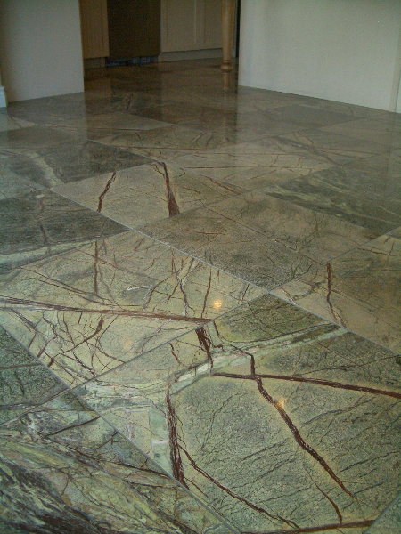 Marble floor tile installation contractor in Northern Colorado