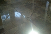 Marble floor tile installation in Longmont, Colorado