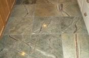 Marble floor tile installation contractor in Fort Collins, Colorado