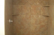 Ceramic shower tile in Loveland, Colorado
