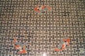 Whte Thassos Marble master bathroom tile remodel