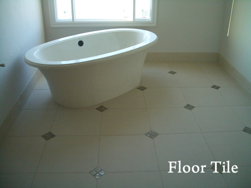 Link to page with Floor Tile Installation Photos