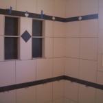 Porcelain tile shower remodel in Fort Collins