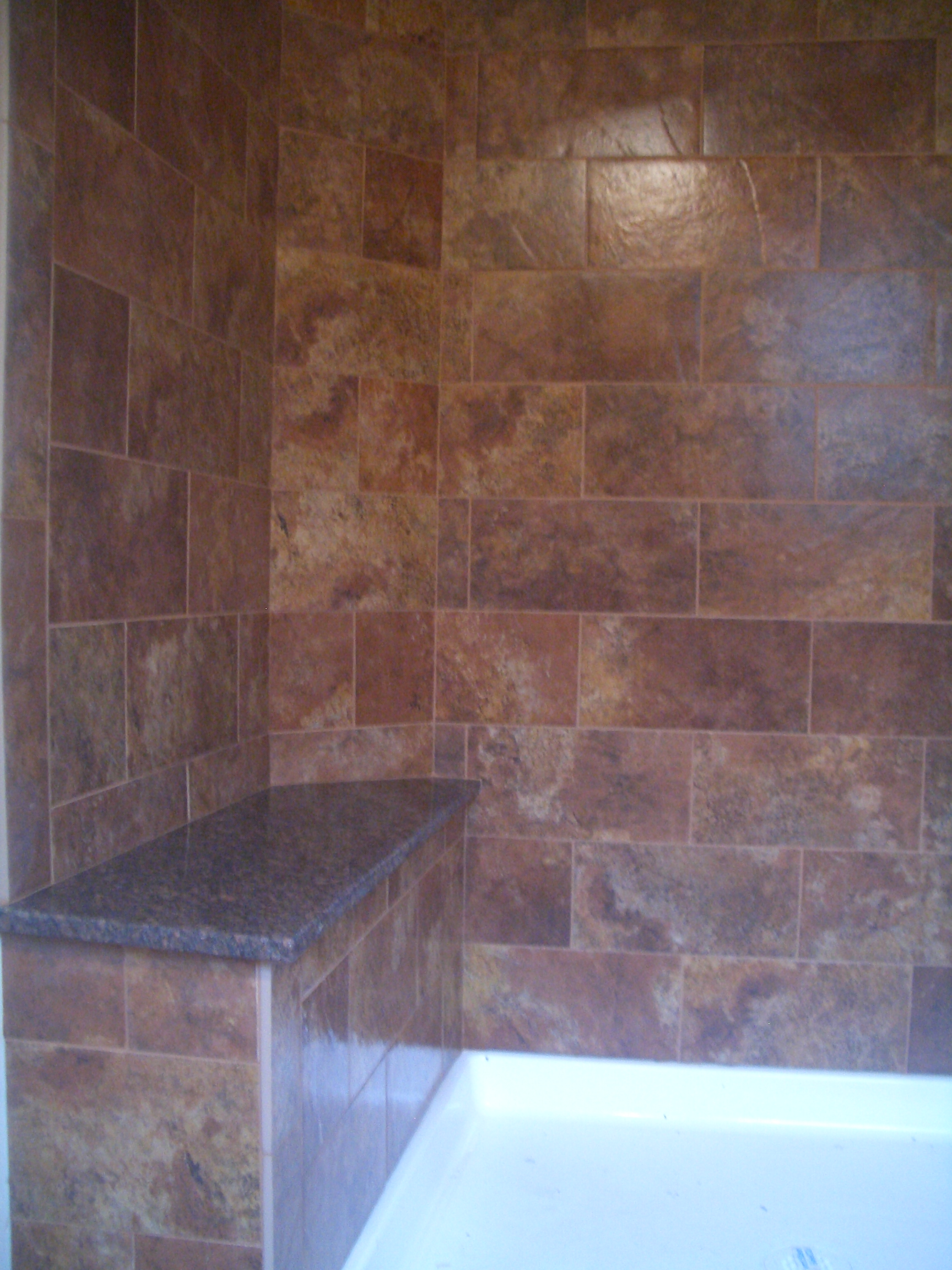Subway Style Shower In Red Feather Lakes