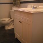 Porcelain shower tile in a bathroom remodel in Fort Collins