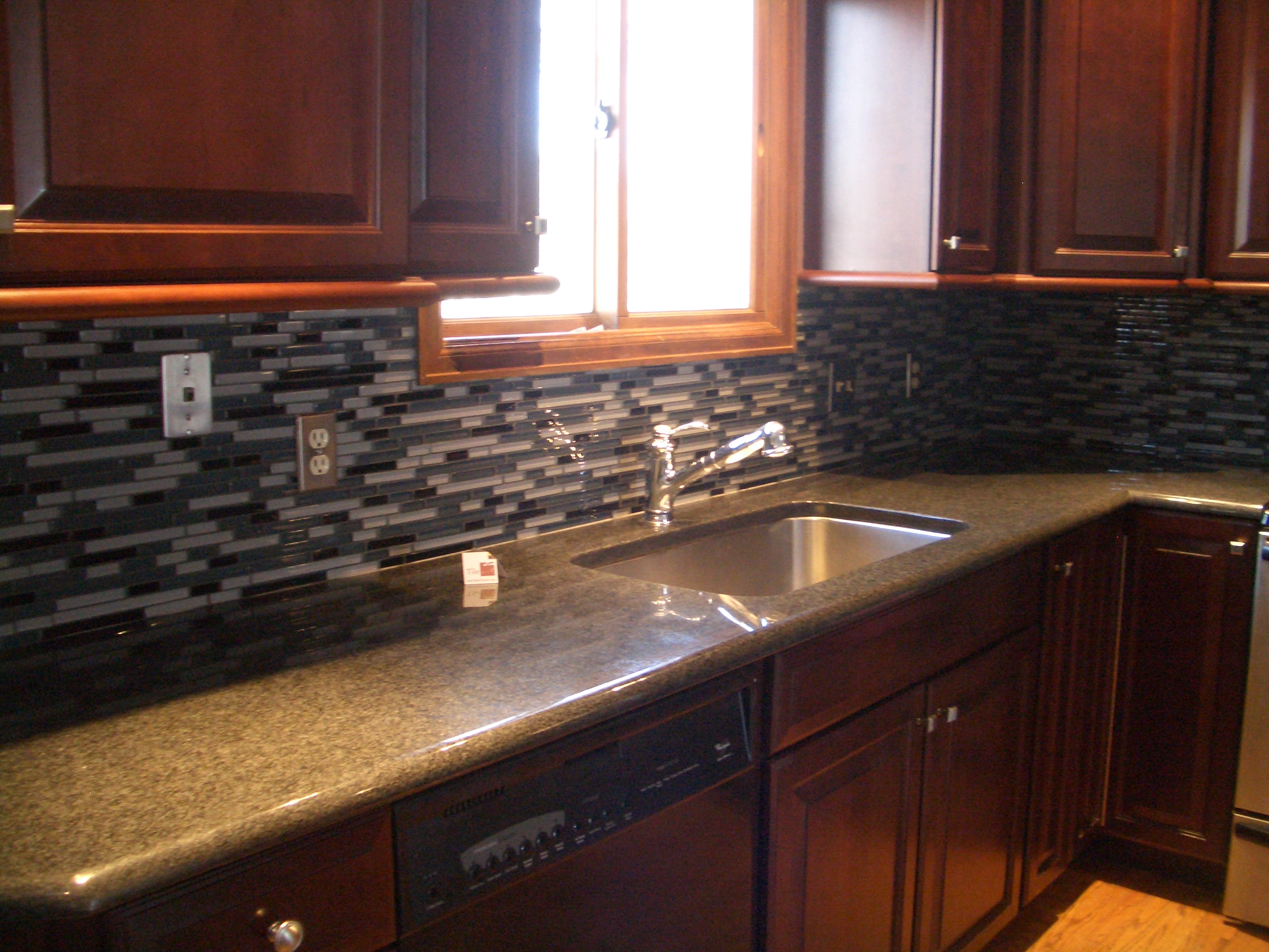 Kitchen Backsplash With Art Behind Sink Top Preferred Home Design