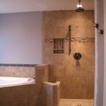 Master bath kerdi shower remodel in Fort Collins