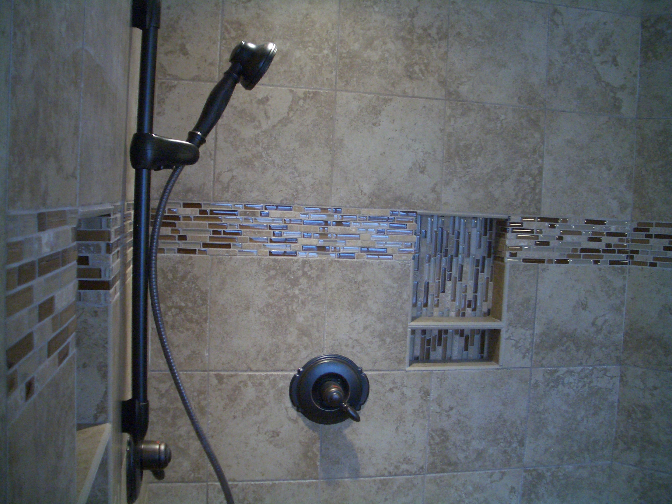 Kerdi master bathroom shower remodel in fort collins Bathroom tile showers