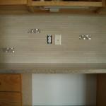 Glass Tile Kitchen Backsplash Installation with SpectraLOCK