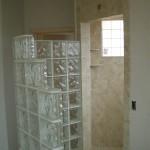 Glass Block structural wall installation in Loveland, CO