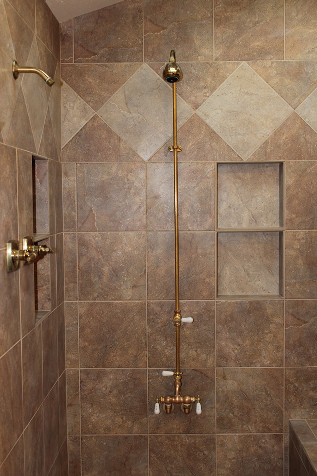 Porcelain Tile Master Bathroom Remodel In Fort Collins
