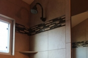 Porcelain and glass shower remodel in Fort Collins_1747