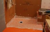Porcelain tile master bathroom remodel in Fort Collins, Colorado _1533