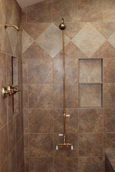 Porcelain tile master bathroom remodel in Fort Collins, Colorado_1699