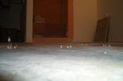 Flat porcelain floor