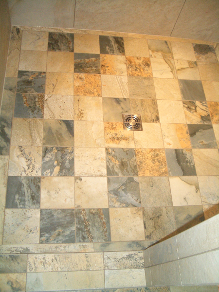 shower floor