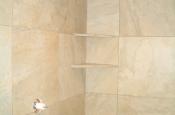 Shower tile completed