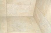 Upper corner in shower