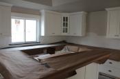 Limestone mosaic kitchen backsplash in Fort Collins1832