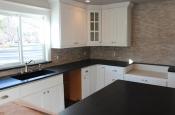 Limestone mosaic kitchen backsplash in Fort Collins_1962