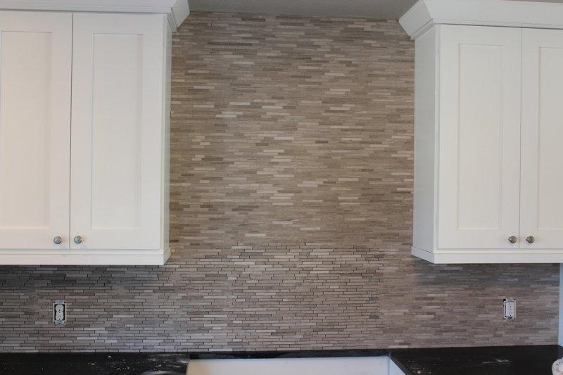 Limestone mosaic kitchen backsplash in Fort Collins_1951