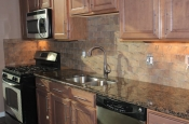 Porcelain subway kitchen backsplash in Fort Collins_1513