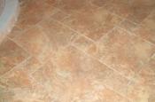 Porcelain pinwheel floor tile in Fort Collins, CO