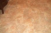 Florida Tile Taconic Slate porcelain master bathroom pinwheel floor in Fort Collins