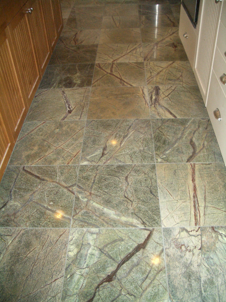Marble floor tile installation contractor in Fort Collins, Colorado