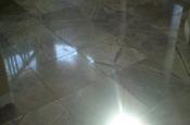 Marble floor tile installation in Longmont, Colorado