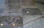 Marble tile installation in Longmont, Colorado