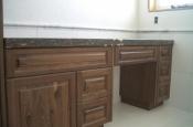 Whte Thassos Marble master bathroom tile remodel